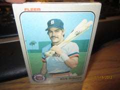 Detroit Tigers 1983 Fleer Card Set Sealed
