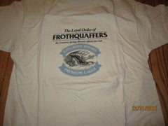 Creemore Springs Lager Loyal Order Of Frothquaffers T Shirt XL Canada Beer