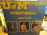 Michigan Football 1969-1976 LP Bob Ufer Bo Schembechler