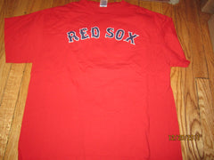 Boston Red Sox #46 Jacoby Ellsbury Red T Shirt XL