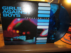 Girls Against Boys Freakonica 2x LP Blue Vinyl GVSB
