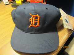 Detroit Tigers Vintage Road Snapback Hat New W/Tag Outdoor Cap Sm/Med