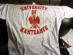 Hamtramck University Of Of White T Shirt XL Detroit Polish