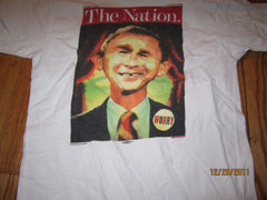 The National Alfred W Bush Worry T Shirt Medium