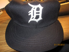 Detroit Tigers Vintage Elastic Back Hat By Annco Medium