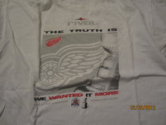 Detroit Red Wings 1998 Stanley Cup Champions Team Issued Only Shirt XL Rival