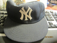 New York Yankees Vintage 70's Adjustable Hat By Annco Small