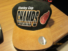 Detroit Red Wings 1997 Stanley Cup Chaps Locker Room Hat New By Starter