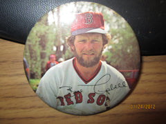 "Boston Red Sox Bill Campbell 70's 3"" Round Photo Pin"
