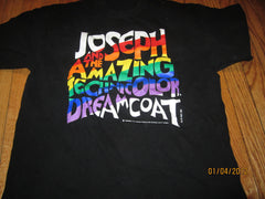 Joseph And The Amazing Technicolor Dreamcoat T Shirt Large