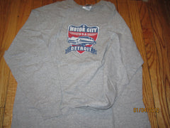 Detroit Michigan Motor City Long Sleeve T shirt XL
