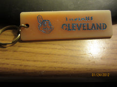 Cleveland Indians Vintage 70's Lucite Keychain