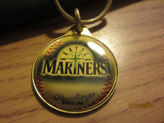 Seattle Mariners Logo Metal Keychain