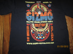 Gizmo Asteroid No.4 & Fuxa Show T Shirt Small