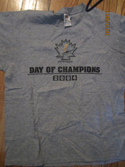 Windsor Junior Spitfires Day Of Champions 2004 Grey T Shirt Large