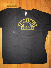 Boston Bruins Vintage Fit Old Logo T Shirt XL Organic Cotton