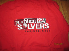 FOX 2 TV Problem Solvers T Shirt XL Detroit