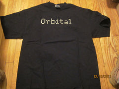 Orbital 2001 Logo Black T Shirt XL Electronic House Techno Dance
