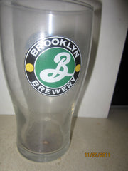 Brooklyn Brewery Older Logo Pint Glass New York Beer