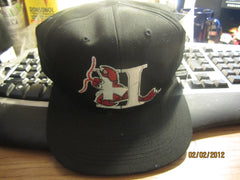 Hickory Crawdads Logo Snapback Hat Outdoor Cap Co