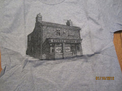 Coronation Street Rovers Return Grey T Shirt Large England