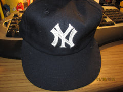 New York Yankees Vintage 70's Elastic Back Hat By Annco New W/O Tag