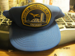 Los Angeles Department Of Airports Ontario Mesh Snapback Hat