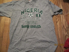 Nigeria Super Eagles 1998 World Cup T Shirt XL