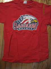 Saginaw Spirit Minor Hockey Logo T Shirt Medium