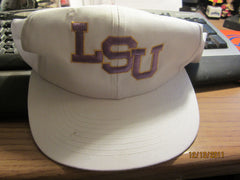 Brand New LSU White Snapback Hat