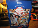 Detroit Tigers 1986 Surf Baseball Card History Book SGA