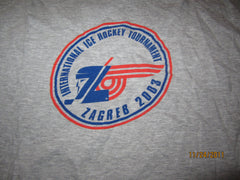 International Ice Hockey Tournament Zagreb 2003 T Shirt XL