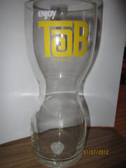 Tab Diet Cola RARE! Hourglass Shaped Glass 70's