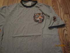 "Detroit Tigers Old Logo Sewn ""D"" Vintage Fit Shirt XXL By Red Jacket"
