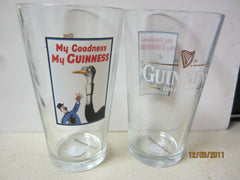 "Guinness Vintage Poster ""Ostrich"" Pint Glass"
