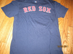 Boston Red Sox Classic Navy Jersey Style Vintage Fit T Shirt Medium