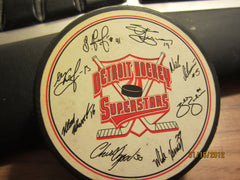 Detroit Red Wings Facsimile Signed Puck Burger King Promo
