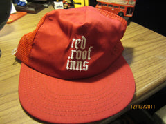 Red Roof Inns Vintage Mesh Trucker Snapback Hat