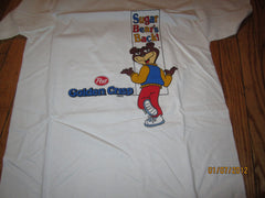 Post Golden Crisp Sugar Bear's Back T Shirt Large New W/O Tag