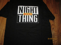 Arsenio Hall Night Thing Talk Show Logo T Shirt XL New W/O Tag