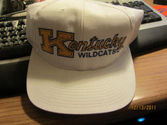 Kentucky Wildcats White Snapback Hat New W/O Tag