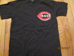 Cincinnati Reds #30 Ken Griffey Jr. T Shirt Kids Medium