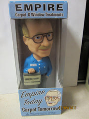 Empire Carpet Man Plastic Bobblehead Funko New In Package