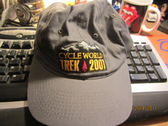 Cycle World TREK 2001 Adjustable Flex Fit Hat