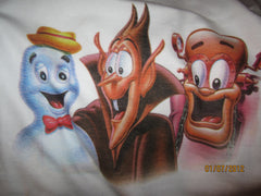 Booberry Frankenberry & Count Chocula T Shirt Large