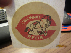 Cincinnati Reds Logo 3 Inch Iron On 1070's