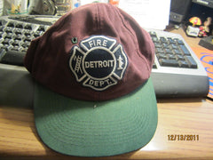 Detroit Fire Department Logo Two Tone Adjustable Hat
