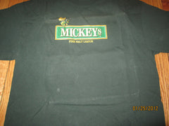 Mickeys Malt Liquor Mean Bee Green T Shirt Large