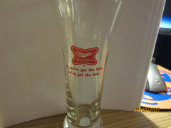 Miller High Life Vintage Tall Shell Style Glass