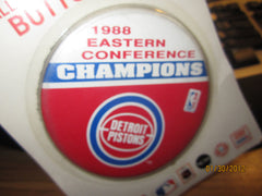 "Detroit Pistons 1988 Eastern Conference Champs 3 1/2"" Pin"
